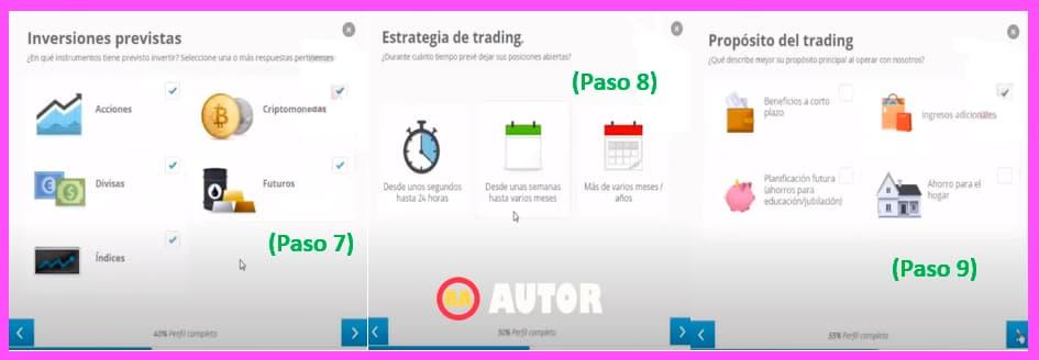 Tipos de inversiones y propósitos de trading