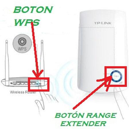 conectar el amplificador de TP-Link a un conector de corriente lo más cercano al router